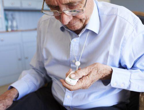 alarmknop voor ouderen